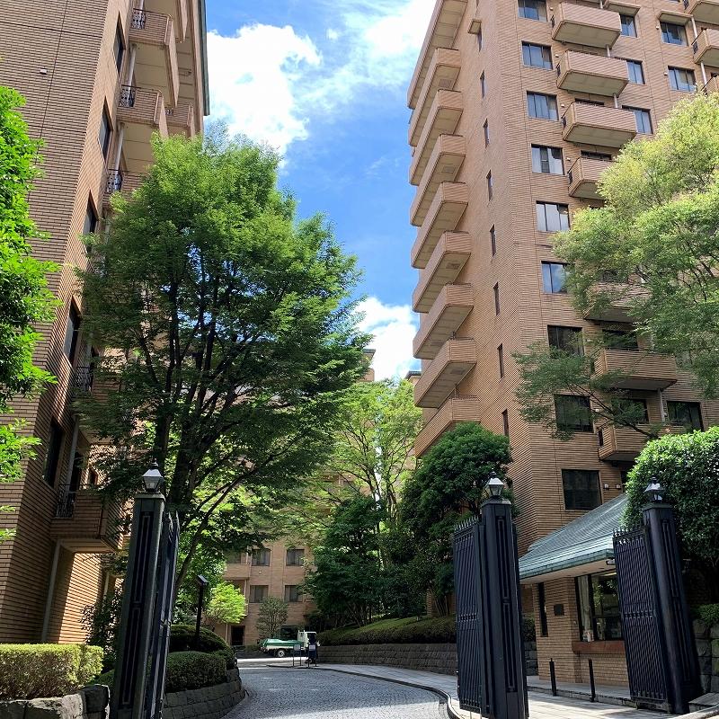 広尾ガーデンヒルズ サウスヒルD棟 4階部分